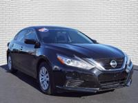 Super Black 2018 Nissan Altima 2.5 S FWD CVT with