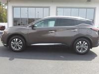 2018 Nissan Murano SL Java Metallic CARFAX One-Owner.