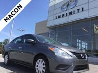 INFINITI OF MACON IS OFFERING THIS 2018 Nissan Versa