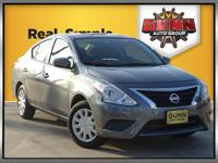 This 2018 Nissan Versa 1.6 S is great on gas and was