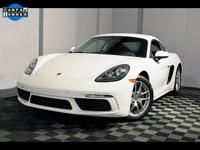 2018 Porsche 718 Cayman 6 Speed Manual ACCIDENT FREE