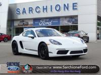 Just Arrived***208 Porsche 718 Cayman Coupe***Sport