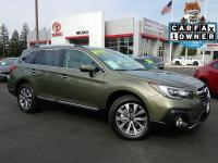2018 Subaru Outback Touring with 4570 miles. Color: