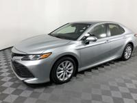 CARFAX One-Owner. Celestial Silver Metallic 2018 Toyota