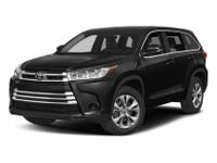 Sturdy and dependable, this 2018 Toyota Highlander LE