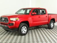 Our One Owner, Clean CarFax 2018 Toyota Tacoma Double