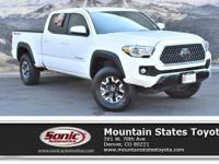 Look at this 2018 Toyota Tacoma TRD Off Road. Its