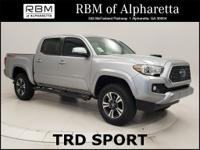 - Low Mile Tacoma TRD Sport 4-Wheel-Drive Double Cab -