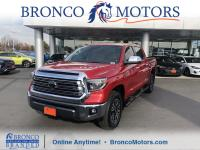 Red 2018 Toyota Tundra 1794 4WD 6-Speed Automatic