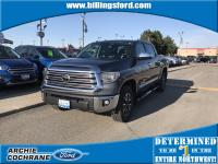 Magnetic Gray Metallic 2018 Toyota Tundra Limited 5.7L
