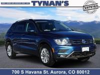 Our great looking 2018 Volkswagen Tiguan S 4Motion SUV