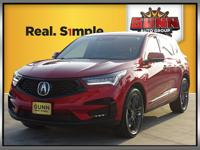 This 2019 Acura RDX A-Spec is a beautiful luxury