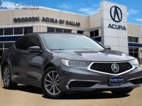 Certified. ACURA CERTIFIED, SUNROOF/MOONROOF,