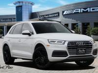 Solid and stately, this 2019 Audi Q5 practically sings