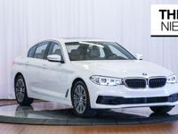 Here is a 2019 BMW 540i with 10,922 miles and a great