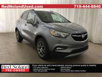 Look at the miles! This used 2019 Buick Encore Sport