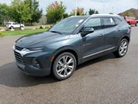 Clean CARFAX. Graphite Metallic 2019 Chevrolet Blazer