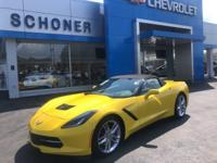 CARFAX One-Owner. Corvette Racing Yellow Tintcoat 2019