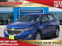 Kinetic Blue Metallic 2019 Chevrolet Equinox LS FWD