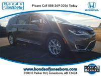 Gray 2019 CARFAX One-Owner. Chrysler Pacifica Limited