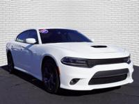 White 2019 Dodge Charger GT RWD 8-Speed Automatic 3.6L