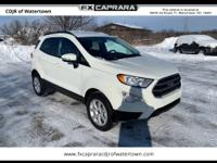 CARFAX One-Owner. Clean CARFAX. Wh 2019 Ford EcoSport