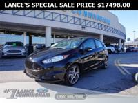 Clean CARFAX.2019 Ford Fiesta ST Shadow Black FWD