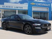 CARFAX One-Owner. Clean CARFAX. Black 2019 Ford Mustang
