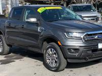 CARFAX One-Owner. Gray 2019 Ford Ranger Lariat 4WD