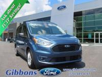 Clean CARFAX. Blue Metallic 2019 Ford Transit Connect