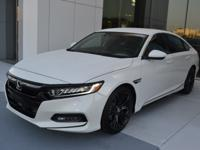 This 2019 Honda Accord Sport comes with a 1.5T I4 DOHC