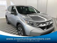 Win a score on this 2019 Honda CR-V LX before someone