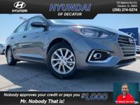 ALL-NEW REDESIGNED 2019 Hyundai Accent FWD Automatic