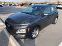 Thunder Gray 2019 Hyundai Kona SE AWD 6-Speed Automatic