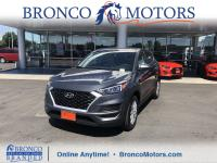 Gray 2019 Hyundai Tucson SE AWD 6-Speed Automatic with