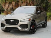 ***LOOKS AND LUXURY **JAGUAR F-PACE S** **CARFAX