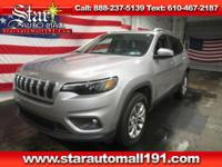 CARFAX One-Owner. Clean CARFAX. Silver 2019 Jeep