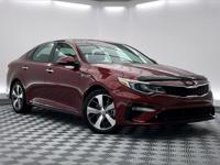 CARFAX One-Owner. Clean CARFAX. Optima S, 4D Sedan,