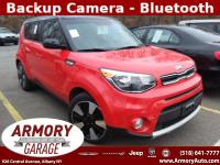 2019 KIA SOUL PLUS HATCH BACK . RED / BLACK ROOF