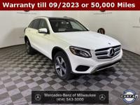 Clean CARFAX. Polar White 2019 Mercedes-Benz GLC GLC