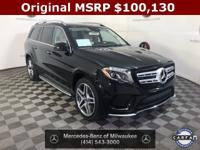 Clean CARFAX. Black 2019 Mercedes-Benz GLS GLS 550