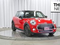 Clean CARFAX. Chili Red 2019 MINI Cooper Hardtop 2 Door