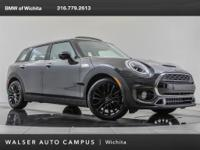 2019 MINI Cooper S Clubman, located at MINI of Wichita.
