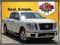 This 2019 Nissan Titan SV was designed to work hard to
