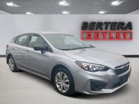 2019 Subaru Impreza Ice Silver Metallic 2.0i Rear