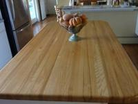 I have a lovely custom made butcher block kitchen