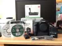 used Cannon EOS 5D Mark ii with Cannon Battery Grip, 2