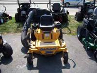 "Cun Cadet zero turn mower with bagging system, 44"" cut,"