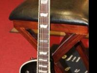 The ESP LTD EC-401 electric guitar has a set mahogany
