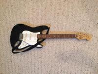 Type: Electric Guitar Type: Fender Fair condition.